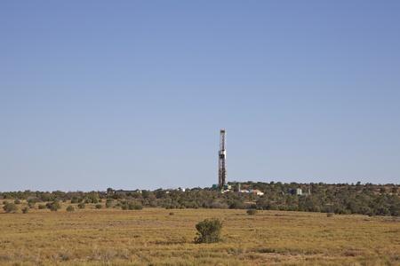 oil exploration: Oil Exploration in Utah Stock Photo