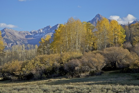 colorado landscape: Southwest Colorado Landscape in Autumn