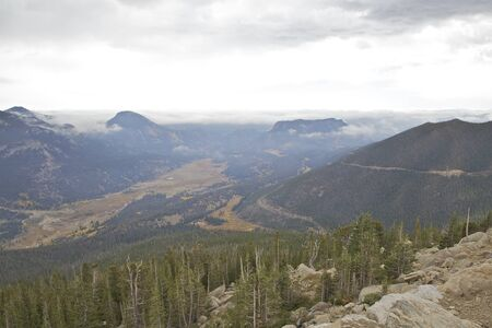 front range: Colorado Front Range Fog rolling In