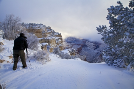 Winter Photography at Grand Canyon photo