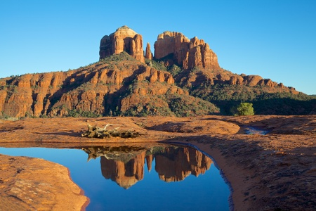 Cathedral Rock Reflection photo