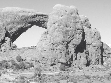 North Window Arches N P Utah