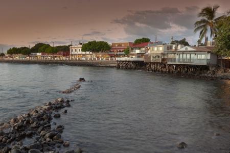 Lahaina Maui at Sunset