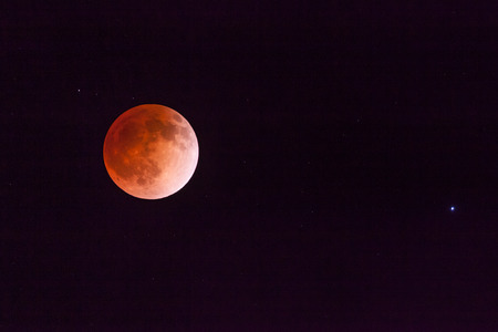 Blood Moon From Lunar Eclipse