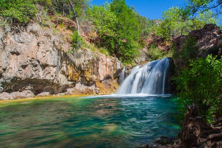 Scenic Waterfall Фото со стока