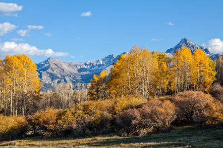 Colorado Rockies Fall Landscape photo