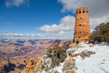 Photographing at Desert View Watchtower Grand Canyon photo