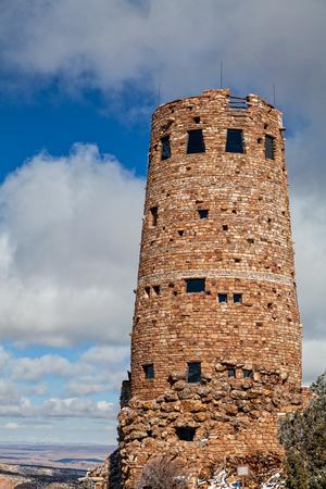 Desert View Watchtower Grand Canyon photo