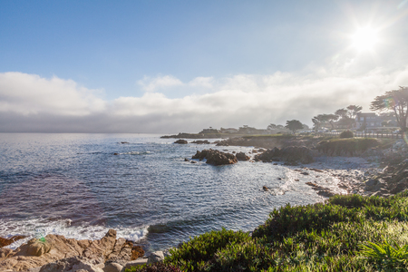 california coast: Big Sur California Coast Landscape