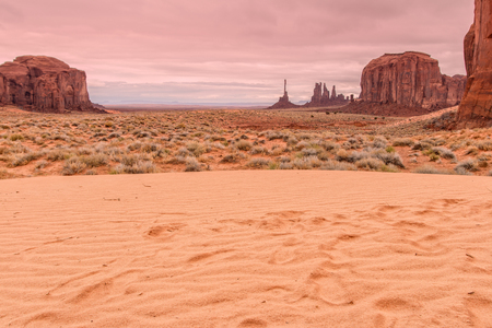 monument valley: Monument Valley Landscape