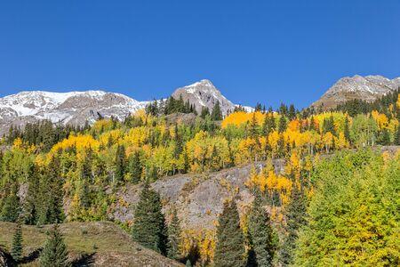 colorado mountains: Colorado Mountains in Fall