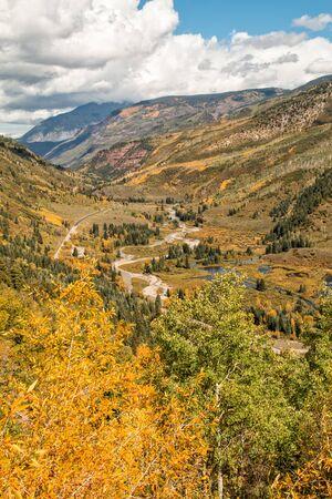 colorado rockies: Colorado Rockies in fall