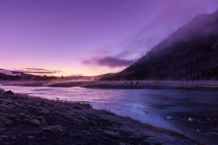 madison: Sunrise on the Madison River