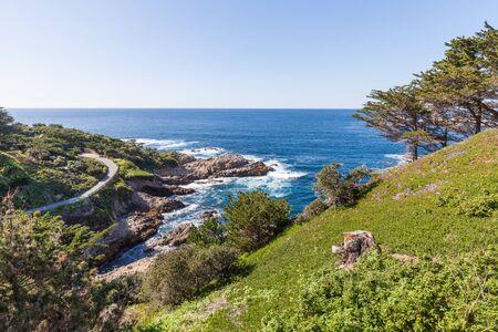 big sur: Scenic California Coast near Big Sur