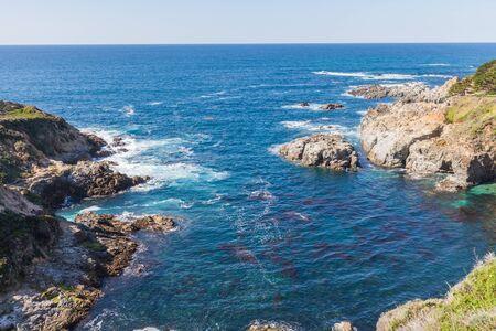 sur: Scenic California Coast near Big Sur