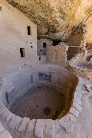 anasazi ruins: Spruce Tree House Ruins Mesa Verde