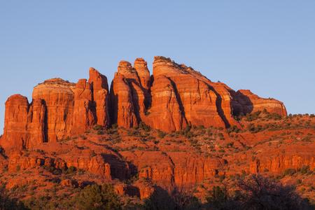 sedona: Sedona Red Rock Landscape Stock Photo