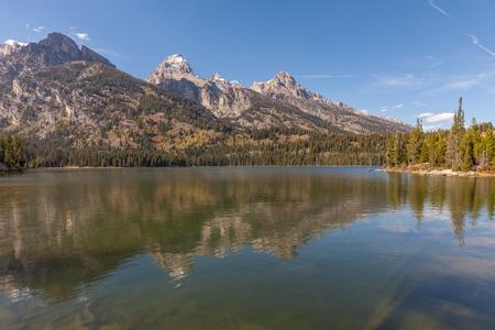 teton: Taggart Lake Teton National Park Wyoming
