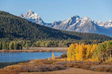 Teton Fall Landscape