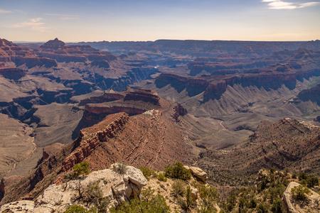 rim: Grand Canyon South Rim Landscape Stock Photo