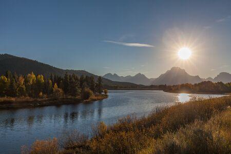 teton: Teton Fall sunset