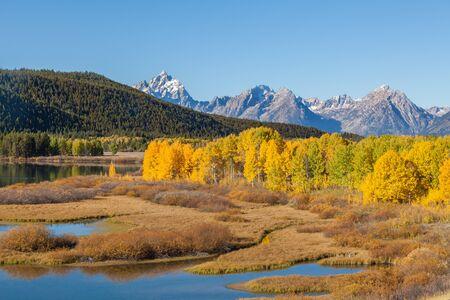 teton: Teton Fall Landscape