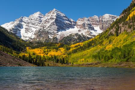 Fall at Maroon Bells Aspen Colorado