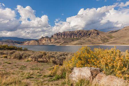 Blue Mesa Reservoir Colorado in Fall