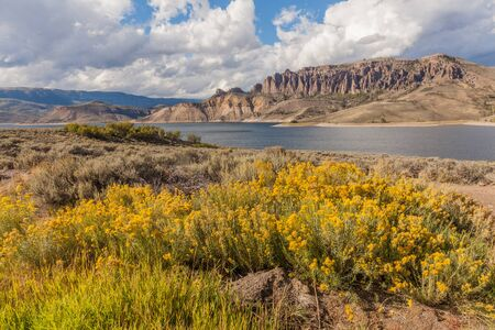 Blue Mesa Reservoir Colorado in Fall