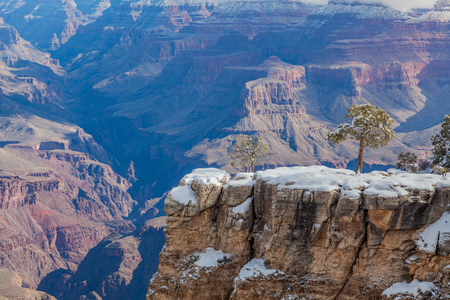 Grand Canyon South Rim Winter