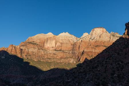 Scenic Zion National Park Landscape