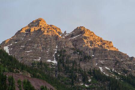 Colorado Mountain Scenic in Summer Stock Photo