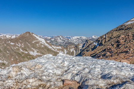 Snow Capped Mountain Landscape