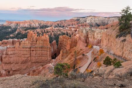 Bryce Canyon National Park at Sunset