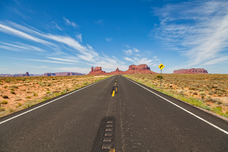 Highway to Scenic Monument Valley