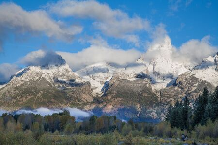 Teton Scenic Landscape in Autumn