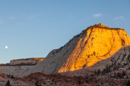 Zion National Park Moonrise