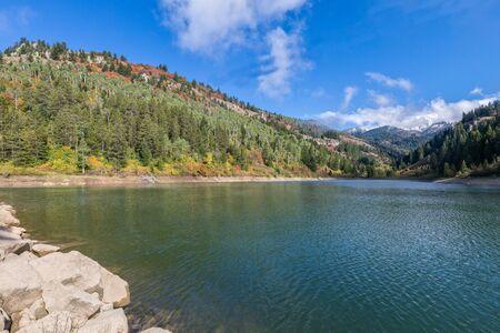 Snake River Canyon Idaho in Fall