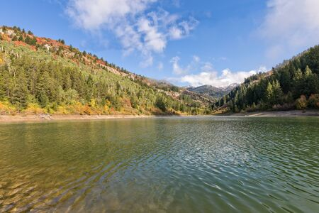 Snake River Canyon Idaho in Fall Фото со стока - 94230640