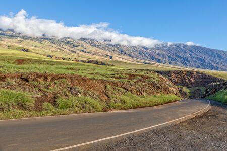 Haleakala Volcano Along the Hana Highway Maui