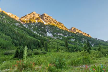 Scenic Maroon Bells Aspen Colorado