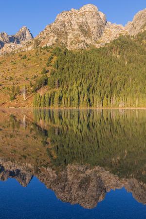 Scenic Teton Autumn Reflection