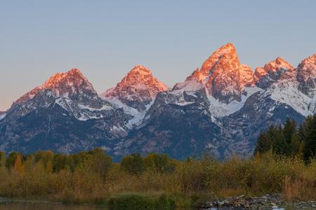 Teton Autumn Sunrise