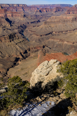 South Rim Grand Canyon Landscape