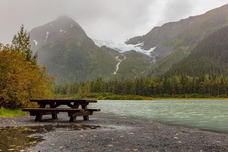 Scenic Kenai Peninsula Alaska in Autumn