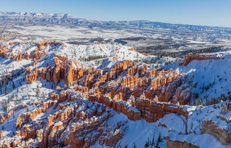 Bryce Canyon National Park Winter Landscape