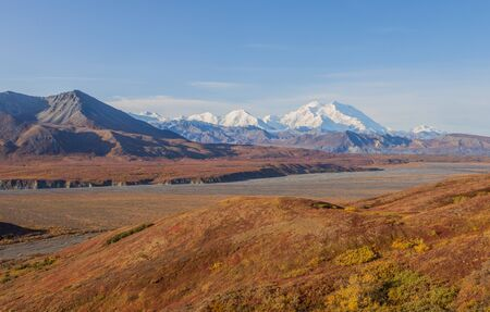 Denali National Park Autumn Landscape