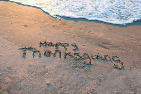 Sandy Thanksgiving 版權商用圖片