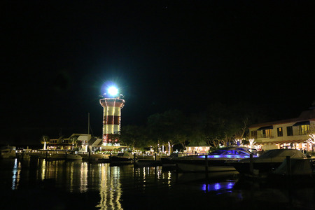 Lighthouse Christmas 版權商用圖片