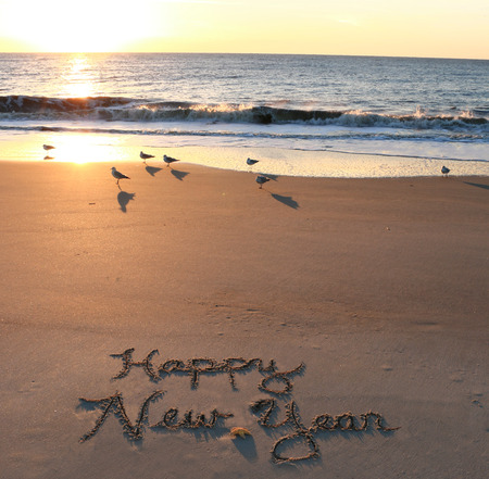 Happy New Year 版權商用圖片